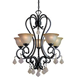 Woodbridge Lighting Firenza 5-light Colonial Bronze Chandelier