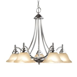Woodbridge Lighting Anson 5-light Satin Nickel Chandelier