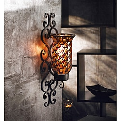 American Atelier Mosaic Glass Wall Sconce