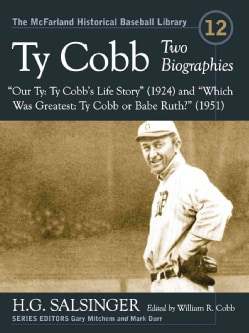 Ty Cobb: Two Biographies--