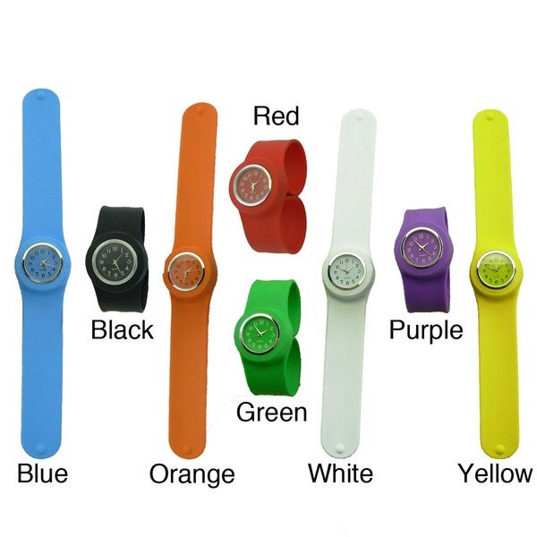 Slap On Children's Silicone Watch