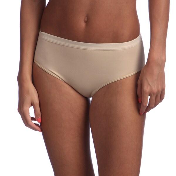 Illusion Women's Nude Booty Enhancing Bikini Brief