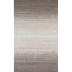Hand-tufted Manhattan Ombre Taupe Wool Rug (5 x 8)
