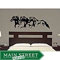 Vinyl 'Trio Horse' Wall Decal