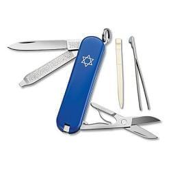 Victorinox Swiss Army Classic Blue Pocket Knife