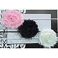 Itty Bitty Shabby Chic Headbands (Set of 3)