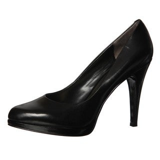 Nine West Women's 'Rocha' Black Leather Pumps