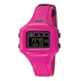Puma Women's PU910772005 'Bounce' Pink Digital Watch