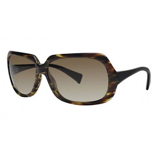 Vera Wang Tortoise Plastic Sunglasses