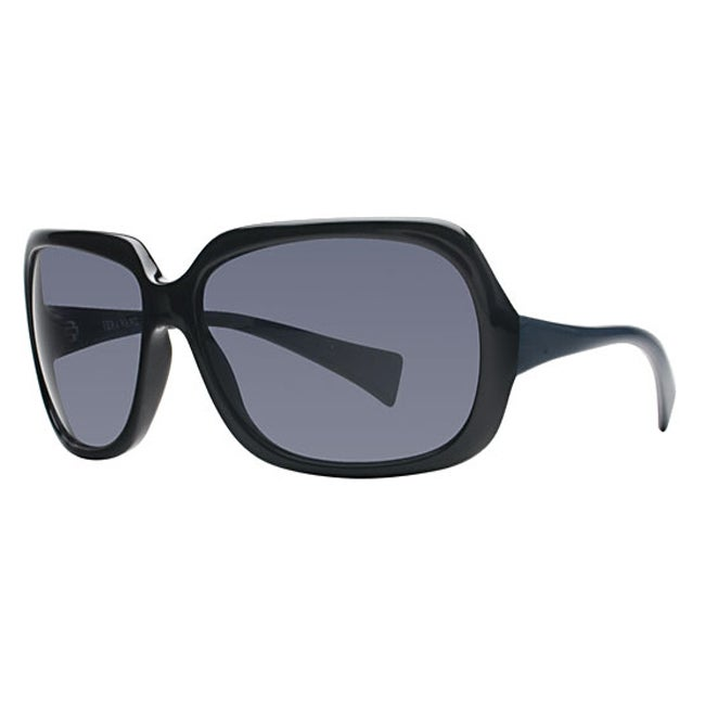 Vera Wang Women's VW 211 BK Black Jade Fashion Sunglasses
