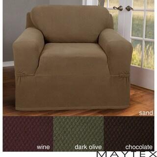 Maytex Stretch Pixel 1-piece Chair Slipcover