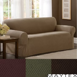 Maytex Stretch Pixel 1-piece Loveseat