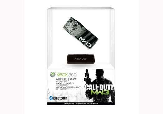 Xbox 360 - Call Of Duty: MW3 Ltd Ed Wireless Headset