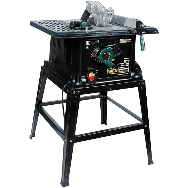 WEN Apex 10-inch Table Saw with Stand at Sears.com