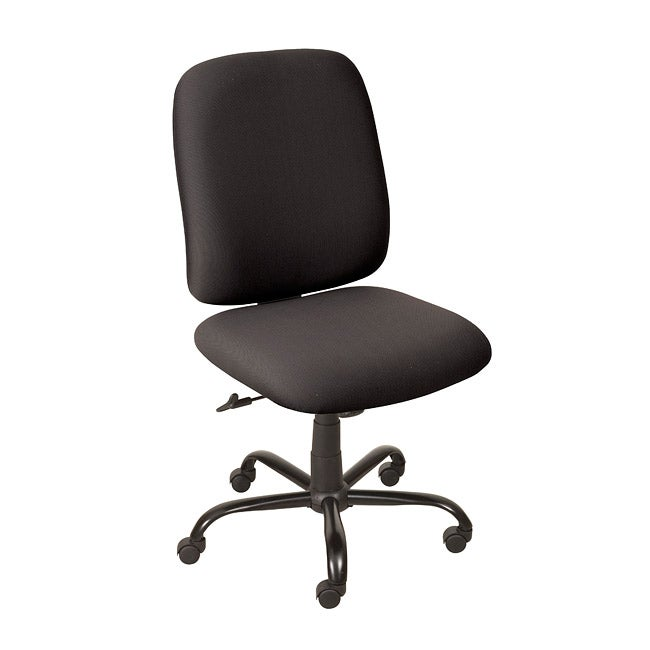 Titan Black High back Rolling Desk Chair with an Oversized  : Titan Black High back Rolling Desk Chair with an Oversized Steel Base L13870822 Overstock <strong>Dining Chairs</strong> from www.overstock.com size 650 x 650 jpeg 19kB