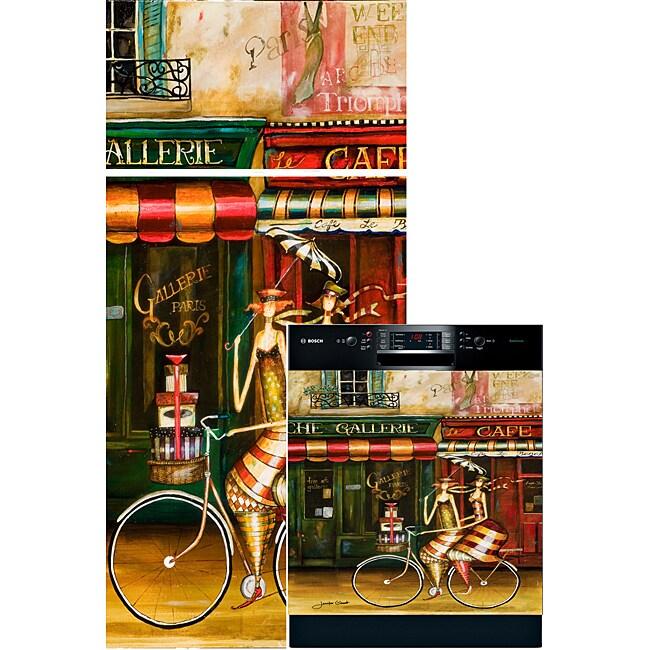 Appliance Art 'Girlfriends in Paris' Combo Appliance Cover