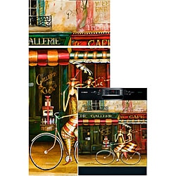 Appliance Art 'Girlfriends in Paris' Combo Appliance Cover
