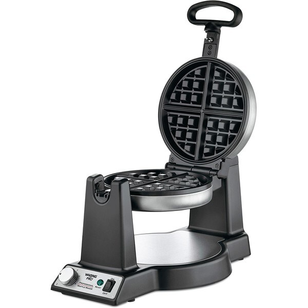 Waring Pro WWM450PC Stainless Steel Belgian Waffle Maker (Refurbished)