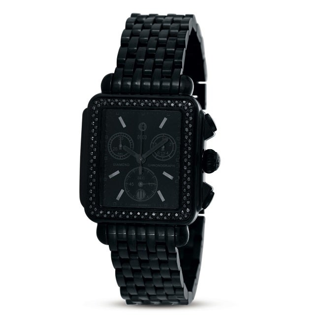 women black diamond watch  eBay