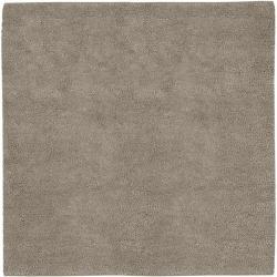 Hand-woven Milwaukee Wool Rug ( 8' Square)