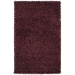 Hand-woven Vivid Soft Shag (8'x10')