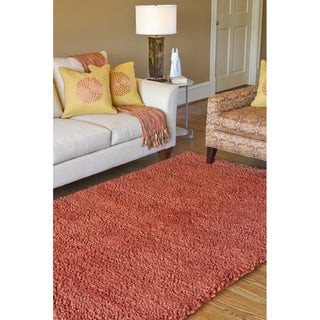 Hand-woven Calgary Wool Rug (9'x13')