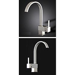 Brushed Nickel Kitchen Swivel Faucet