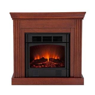 Martel Classic Mahogany Convertible Petite Electric Fireplace