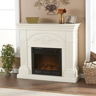 Gilbert Ivory Electric Fireplace