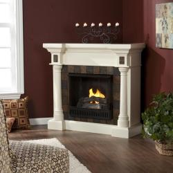 Blanchard Ivory Gel Fuel Fireplace