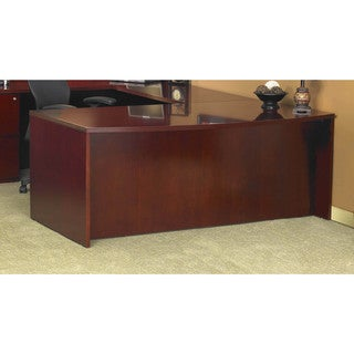 Mayline Luminary 72-inch Bow Front Desk Shell