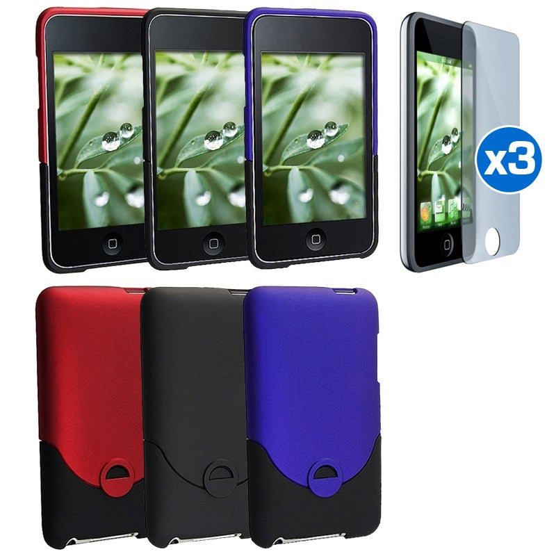 INSTEN iPod Case Covers/ Screen Protectors for Apple iPod touch 2nd/ 3rd Gen