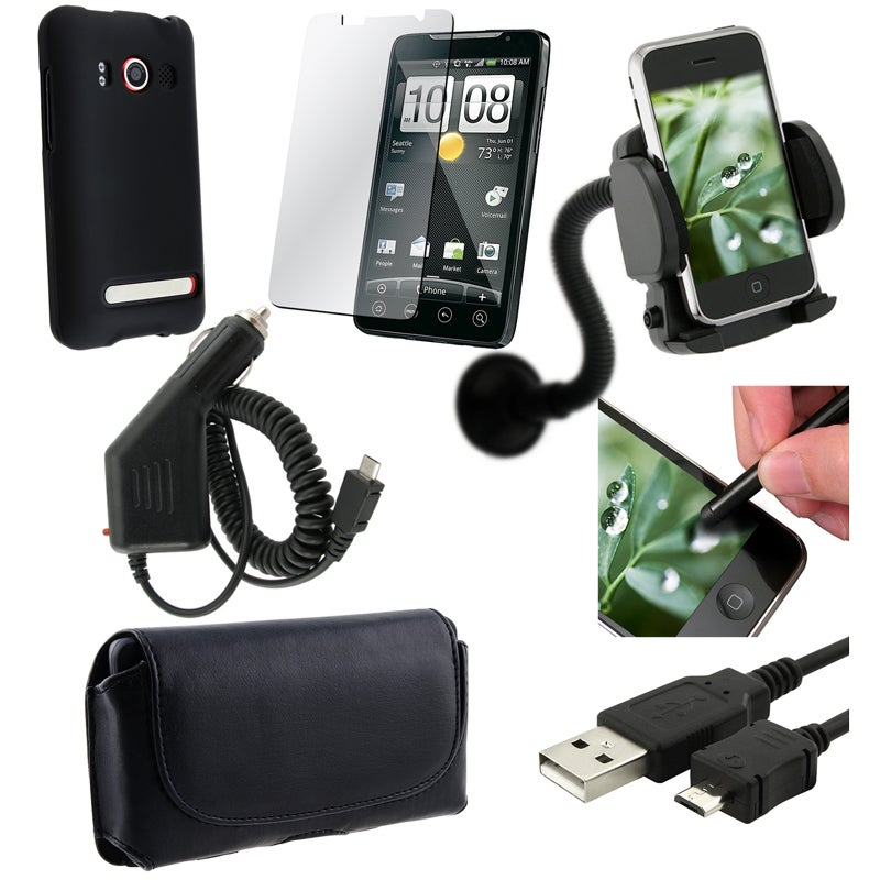 Case/ Screen Protector/ Charger/ Cable/ Holder for HTC EVO 4G