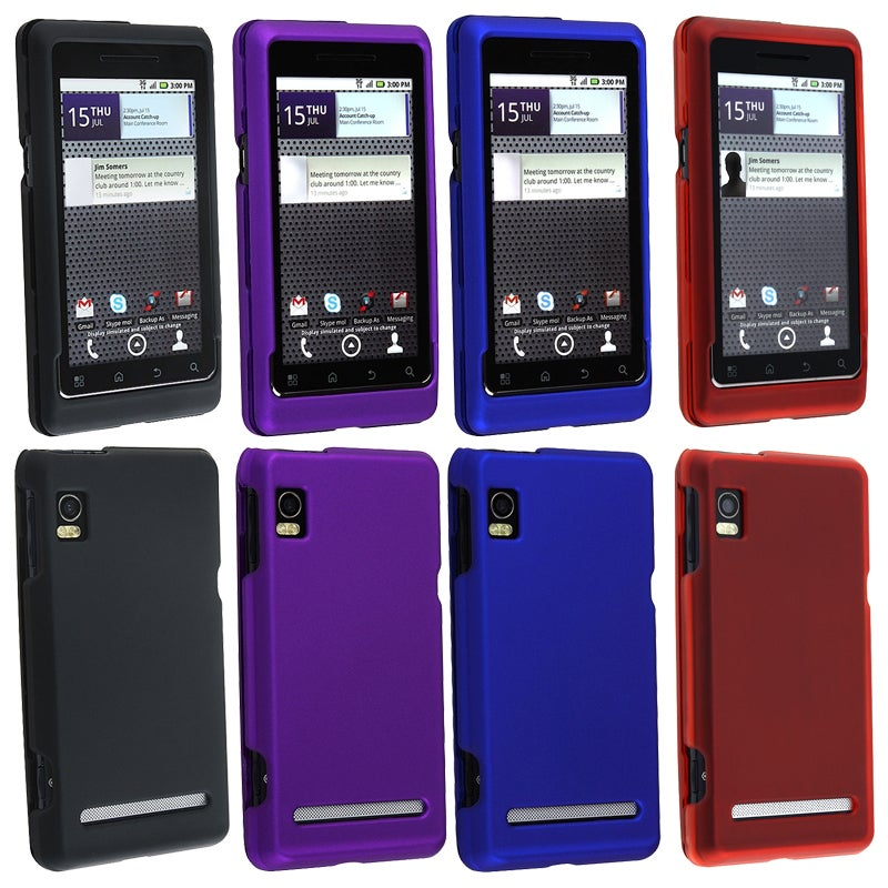 Rubber-coated Cases tor Motorola Droid 2