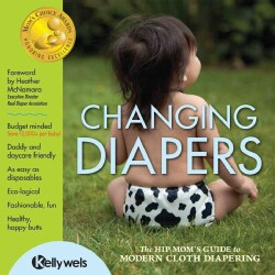 Changing Diapers: The Hip Mom's Guide to Modern Cloth Diapering (Paperback)
