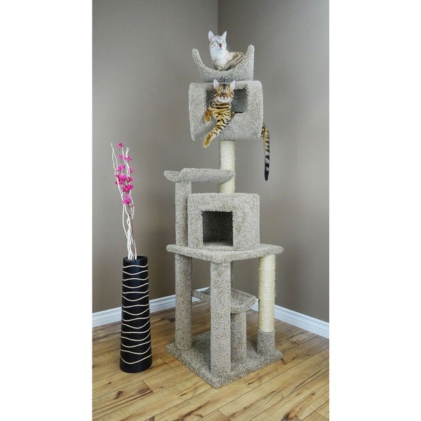 "New Cat Condos 72"" Play Station Cat Tree"