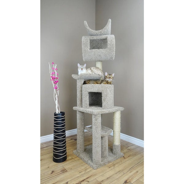 New Cat Condos 72-inch Play Station Cat Tree