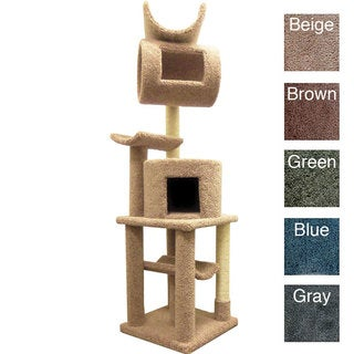 New Cat Condos Cat Playstation - Solid Wood 72