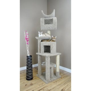 "New Cat Condos Cat Playstation - Solid Wood 72"" Cat Condo"