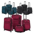 U.S. Traveler 4-piece Expandable Spinner Luggage Set