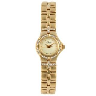 Swiss Edition Women's Goldtone Stainless-Steel Swiss Quartz Watch