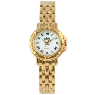 Swiss Edition Women's Goldtone Stainless Steel Watch