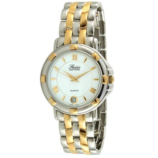 Swiss Edition Men's Two-tone Round Dress Watch
