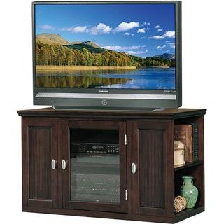Espresso 42-inch Bookcase TV Stand & Media Console