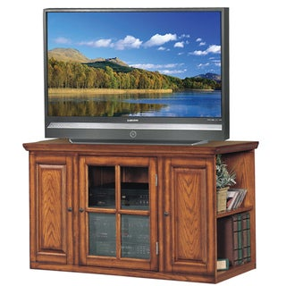 Oak 42-inch Bookcase TV Stand & Media Console