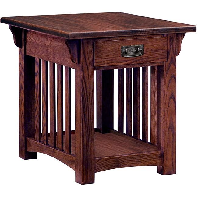 mission style end tables 3