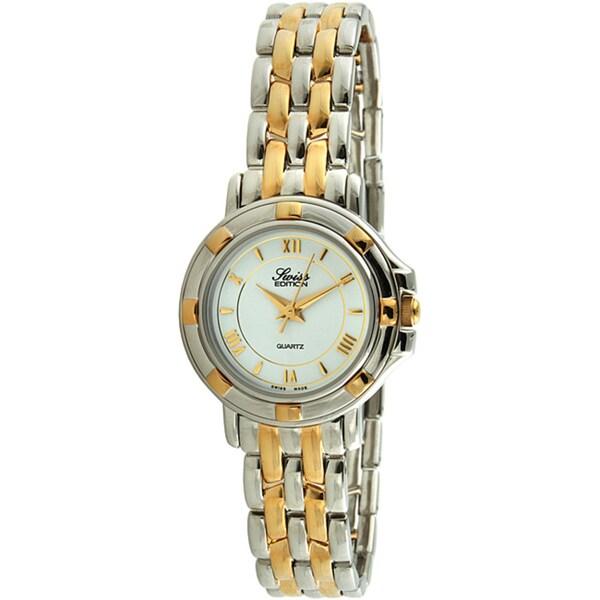 Swiss Edition Women's Two-Tone Stainless Steel Quartz Watch