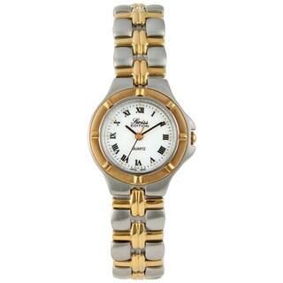 Swiss Edition Women's Two-Tone Stainless Steel Bracelet Watch