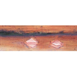 Ankan 'Canoes 1' Gallery-wrapped Canvas Art