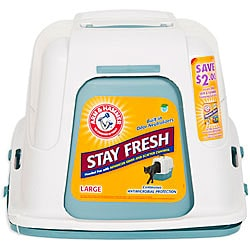 Arm & Hammer Large Hooded Litter Pan
